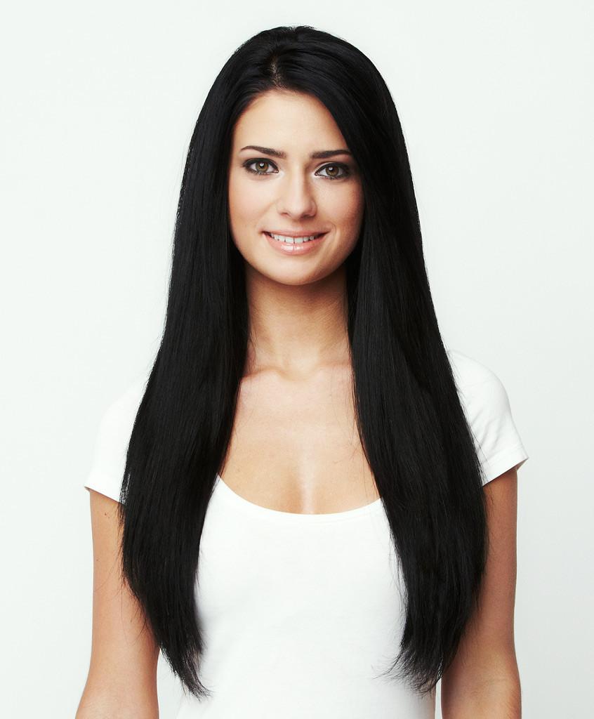 Jet Black Hair Extensions